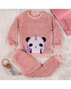 Pijama Feminino Pandinha Yoyo Kids