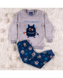 Pijama Masculino Infantil Monstro Hot Dog