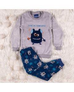 Pijama Masculino Infantil Monstro Hot Dog