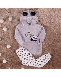 Pijama Masculino Infantil Panda Hot Dog