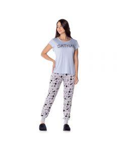 Pijama T-Shirt Catnaps Holla Azul