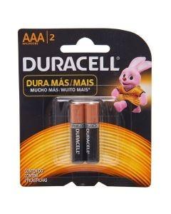 Pilha Palito Alcalina AAA com 2 Unidades Duracell - 5112