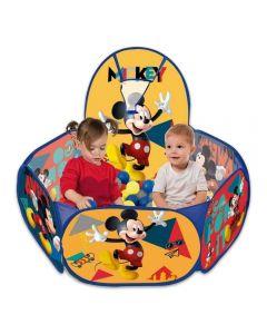Piscina de Bolinha com Cesto de Basquete Zippy Toys - Mickey