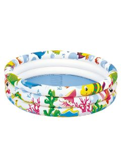 Piscina Infantil 100 Litros Sea World Jilong JL017010-3NPF - DIVERSOS