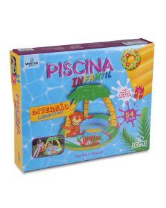 Piscina Inflável Infantil  Monkey Baby Jilong JL01704-4NPF - DIVERSOS