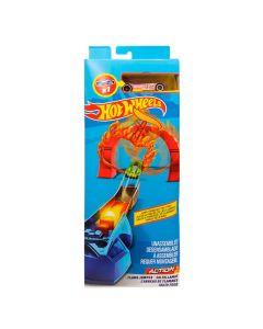Pista de Acrobacias Hot Weels FWM85 Mattel - Salta Fogo