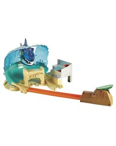 Pista Hot Wheels Ataque Tubarão FNB21 Mattel - Colorido