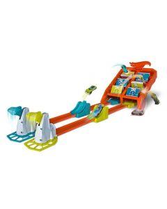 Pista Hot Wheels Competição de Batidas Mattel - GBF89 - Laranja