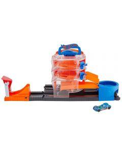 Pista Hot Wheels Conjunto Super Giro Mattel - FNB15 - Laranja