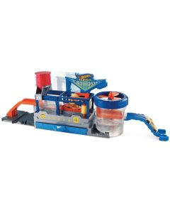 Pista Hot Wheels Lava Rápido Mattel - Azul
