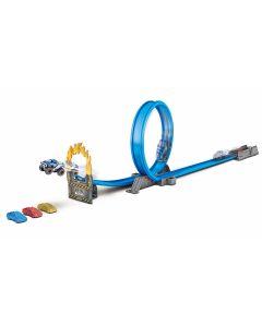 Pista Machine Road Rampage Candide - Azul