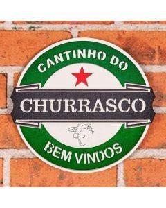 Placa Decorativa Cantinho Forgerini - 141