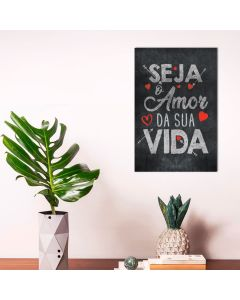 Placa Decorativa Havan - O Amor