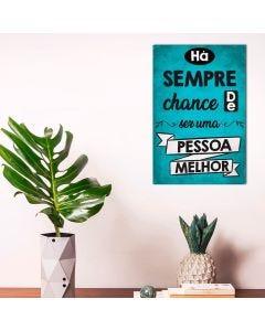 Placa Decorativa Havan - Pessoa Melhor