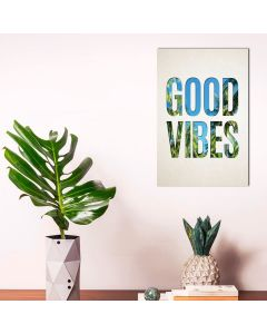 Placa Decorativa Havan - Good Vibes