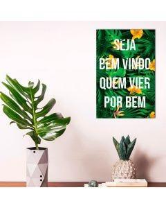 Placa Decorativa Havan - Bem Vindo