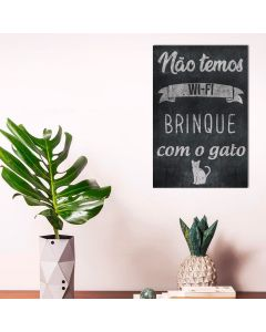 Placa Decorativa Havan - Brinque