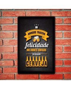 Placa Decorativa Havan - Amigos