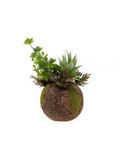 Planta Artificial 27Cm Santini - Verde