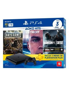 Playstation 4 Slim 1TB Hits Bundle 5 Sony - Bivolt