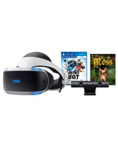 PlayStation VR Bundle Astro Bot Rescue Mission e Moss - Sony