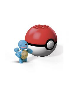 Pokebola com Pokémon Mega Construx Mattel - GFC85 - Squirtle