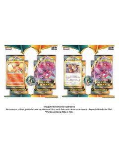 Pokémon Blister Quádruplo Flareon Ee3 Escuridão Incandescente Copag - 89091