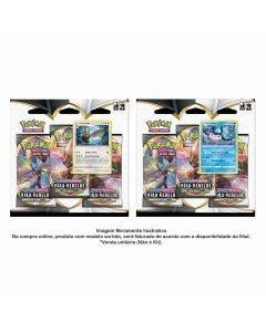 Pokémon Blister Triplo Ee2 Rixa Rebelde Copag - 90782