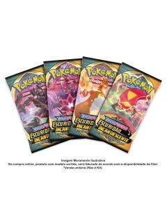Pokémon Booster Ee3 Escuridão Incandescente Blister Unitário - 89084