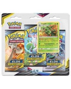 Pokémon Sol e Luz 10 Elos Inquebraveis 99280 Copag - Sceptile