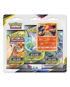 Pokémon Sol e Luz 10 Elos Inquebraveis 99280 Copag - Typhlosion