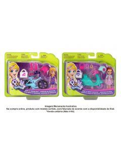 Polly Pocket Aventura Sobre Rodas Mattel - GFP93