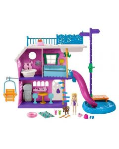 Polly Pocket Casa do Lago Mattel - GHY65 - Rosa