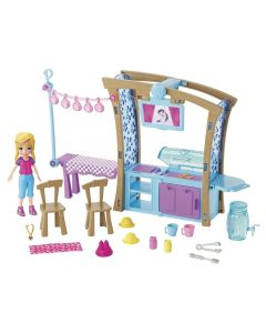 Polly Pocket Churrasco Divertido GDM17 Mattel - Colorido