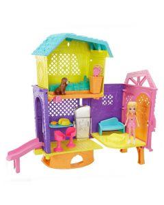 Polly Pocket Club House Espaços Secretos Mattel - GMF81