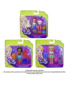 Polly Pocket Conjunto Fashion Pequeno Mattel - GDM01
