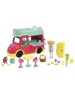 Polly Pocket Food Truck 2 Em 1 Gdm20 Mattel - Colorido