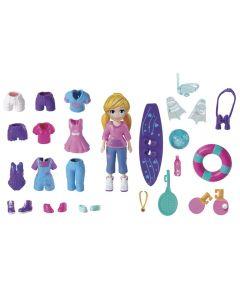 Polly Pocket Kit Boneca e Acessórios Mattel - GBF85 - Roxo