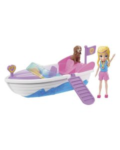 Polly Pocket Kit Grande Moda Esportiva GDM08 Mattel - Barco