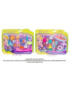 Polly Pocket Pack Aventura Na Praia Mattel - GFT95