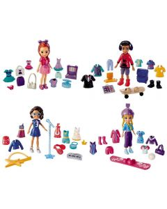 Polly Pocket Super Kit Fashion Mattel - GFR11 - Colorido