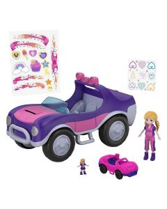 Polly Pocket Veículo Secreto FWY26 Mattel - Roxo