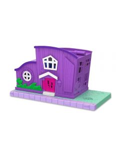 Pollyville - Casa da Polly Pocket Mattel - GFP42 - Rosa