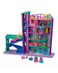 Pollyville - Mega Centro Comercial Mattel - GFP89 - Rosa