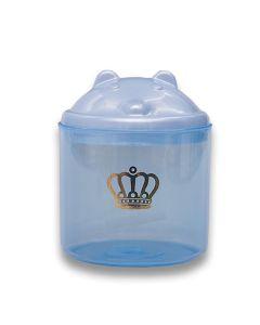 Porta Cotonete Majestic Yoyo Baby  - Azul