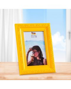 Porta Retrato 10cm x 15cm Buss - Amarelo