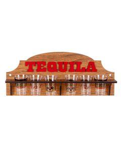 Porta Tequila com 6 Copos Forguerini - 098