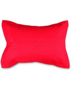Porta Travesseiro Matelado Avulso Solecasa - Vermelho