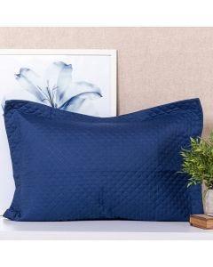 Porta Travesseiro Matelado Avulso Solecasa - Azul Profundo