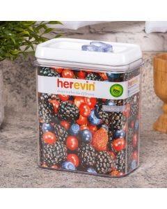Pote Hermético Bianca 1800ml Herevin - Branco